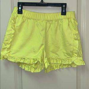 Girls Crew Cuts (j crew) ruffle shorts size 12